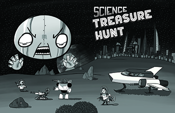 2017 Science Treasure Hunt Cover